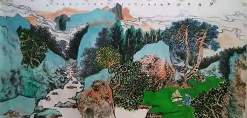 国家一级美术师——孔祥忠(仲)作品鉴赏